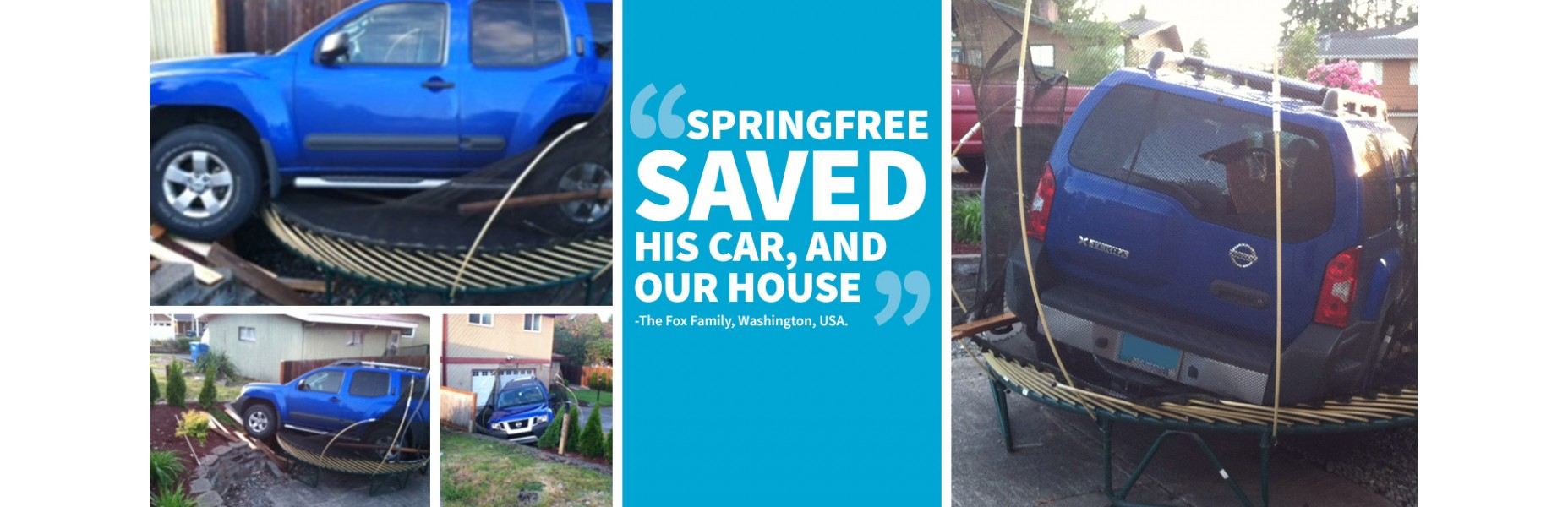 Spring Free Saved Car