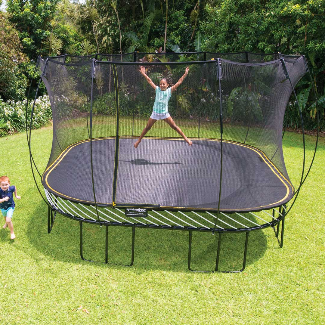 Springfree 13ft Trampoline & Safety Net Enclosure